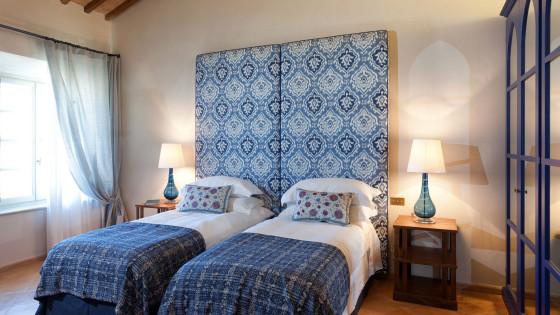Villa San Luigi rooms: BLU