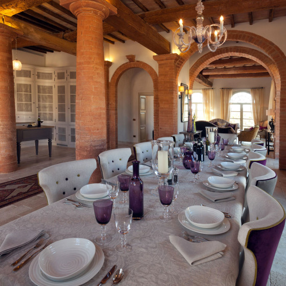 Eating and Drinking at Villa San Luigi