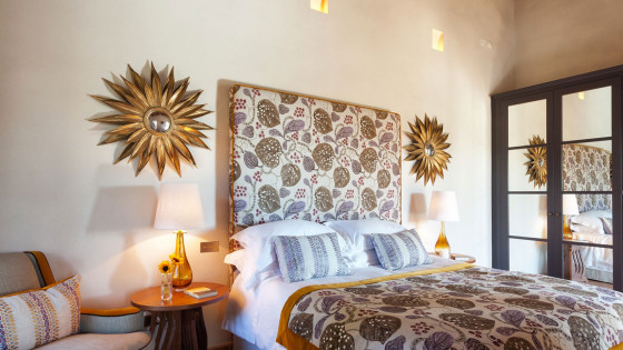 Villa San Luigi rooms: GIRASOLE